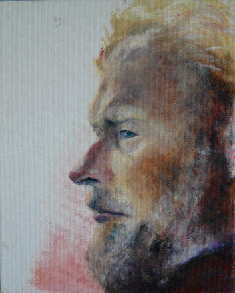 Marcel, olieverf op canvas
